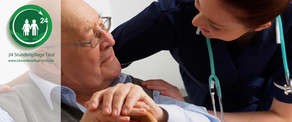 Ablauf und Vermittlung Ihrer 24 Stundenpflege - Pflege Tirol für zuhause